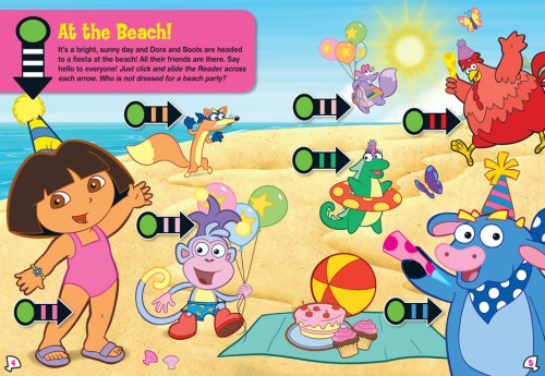 Dora's Sunny Day Fiesta: Follow the Reader Level 1 (Dora the Explorer) by Simon Scribbles