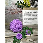 J-Rijzen-Jing-Rise-Artificial-Flowers-Real-Looking-Fake-Roses-with-Stem-for-DIY-Wedding-Bouquets-Centerpieces-Party-Baby-Shower-Home-Decorations-Lavender-50pcs-Standard