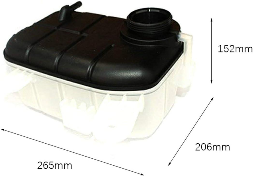schwarz Sunnyflowk Flaschen Ausgleichsbeh/älter K/ühlmittel F/ür Trax Mokka F/ür Opel 95201979//1304029