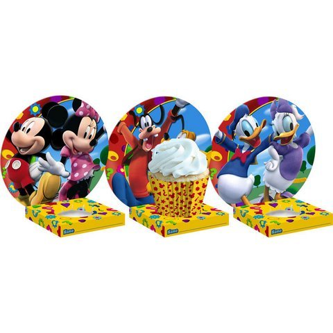 Mickey's Clubhouse Cupcake Holders 6ct