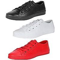 Birde Men's Sneakers Casual Shoes- Combo Pack of 3