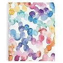 Erin Condren Academic Planner, Watercolor Dots (BYO-AP WTR CLR)
