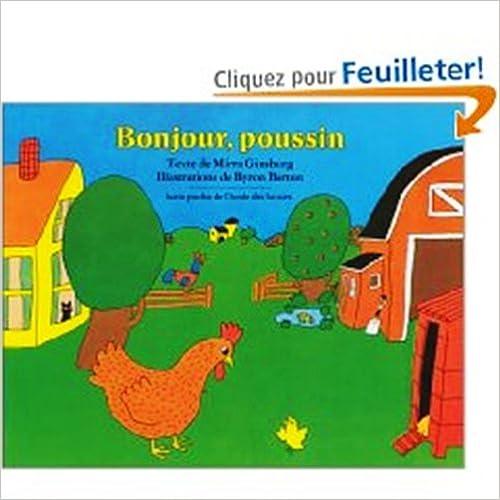 Ebooks téléchargement gratuit pour ipad Bonjour Poussin by Byron Barrett PDF iBook PDB 0320066916