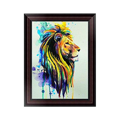Lily Rose Night Table (Arich 5D Diamond Embroidery Lion Painting Cross Stitch DIY Craft Home Wall Decoration)