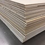 8'' x 10'' x 1/8'' Baltic Birch Sheets - perfect for Laser Engraving, Painting, or Crafting