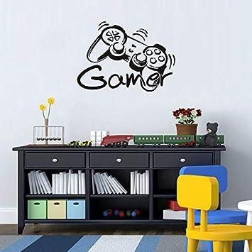 Game Boy Wandtattoo/& Wanddeko Aufkleber Spielzimmer Schlafzimmer Tapete 15.6L x 23.7H Wand-Dekor Gamer Dekorationen f/ür Zuhause Junge Gamer Wand Aufkleber