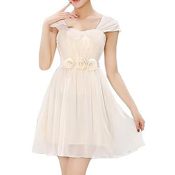 LaoZan Vestidos de Fiesta Cortos de Noche Opción Múltiple para Cócteles Bodas Banquetes - Color1 -