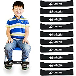 """Chair Bands for Kids with Fidgety Feet :: Fidget Bands for School Classroom Chairs, Ideal for ADHD, Autism, Hyperactivity :: 20"""" x 2"""" x 3/64"""""""