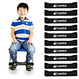 Chair Bands for Kids with Fidgety Feet :: Fidget Bands for School Classroom Chairs, Ideal for ADHD, Autism, Hyperactivity :: 20'' x 2'' x 3/64''