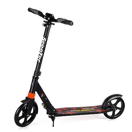 Amazon.com: Scooter para niños pedal ancho, freno de pie ...