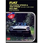 Fiat 124 Coupe/Spider and 2000 Spider 1971-84 Owner's Workshop Manual(Paperback) - 1991 Edition