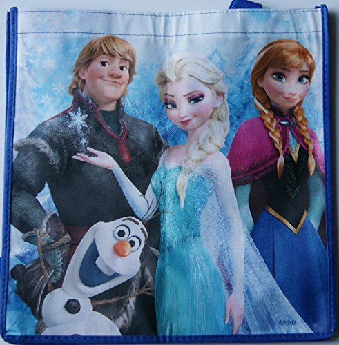Frozen Shopping Bag Tote - Featuring Elsa, Anna, Kristoff, Olaf]()