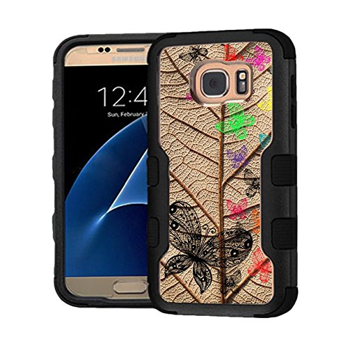 Galaxy S7 Case Infinity Love, Extra Shock-Absorb Clear back panel
