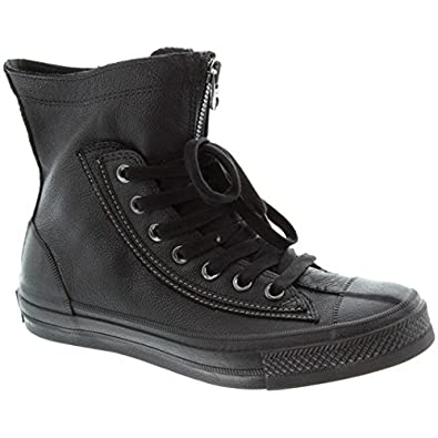 converse all star boots black