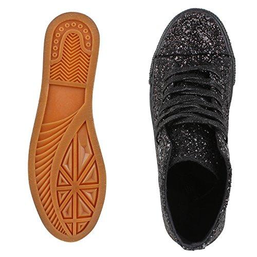 Japado - Zapatillas Mujer Schwarz Black Nero