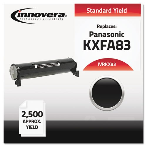 Innovera Compatible with KXFA83 Laser Toner, 2500 Yield, Black