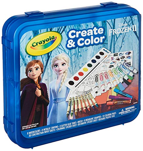 Frozen 2 Art Set, Arts & Crafts, Gift for Kids, Ages 5, 6, 7, 8