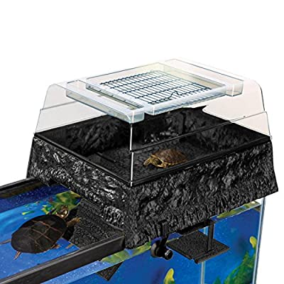 Penn Plax Reptology Life Science Turtle-Topper Above-Tank Basking Platform from Penn-Plax