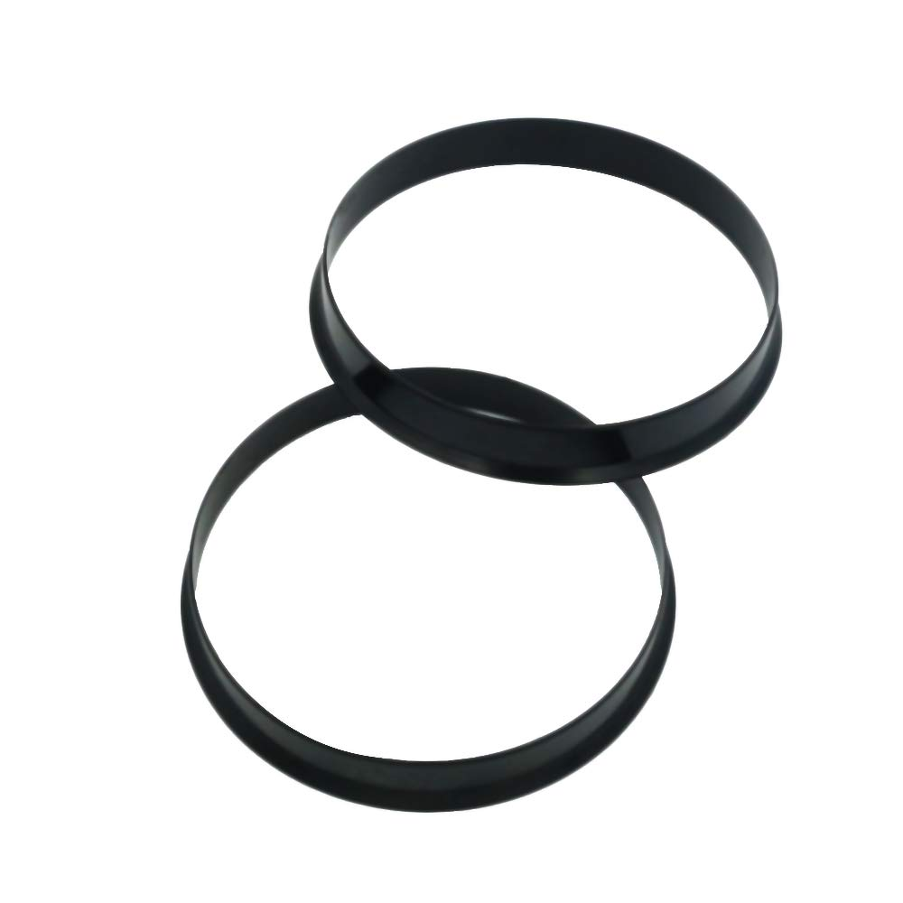 Gallop Domain Hubcentric Rings - 66.1mm ID to 73.1mm OD Only Works on 66.1mm Vehicle Hubs /& Pack of 4 Black Poly Carbon Plastic Hubrings Hub 73.1mm Wheel Centerbore - for many Nissan /& Infiniti