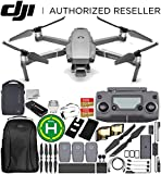 "DJI Mavic 2 Pro Drone Quadcopter with Hasselblad Camera 1"" CMOS Sensor All-Day Bundle with Fly More Kit"