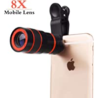 Osray Clip Phone 8X Zoom Lens Telescope Phone Camera Lens from External Smartphone to Universal Phones