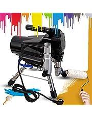 2200 W Airless färgspruta spruta högtryck Paint Spraying Machine 2,5 L/M för väggfärger, lacker, glasyrer, trä- och korrosionsskydd, 3 000 PSI