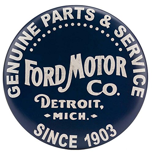 - Open Road Brands Ford Vintage Logo Button Sign