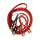 ABN Jumper Cables with Carrying Bag, 16 Feet, 6-Gauge, 500 AMP – Commercial Grade Automotive Booster Cables, Any Vehicle