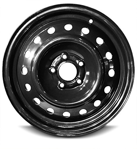 Road Ready Car Wheel For 2000-2007 Ford Taurus 2000-2005 Mercury Sable 16 Inch 5Lug Black Steel Rim Fits R16 Tire - Exact OEM Replacement - Full-Size Spare