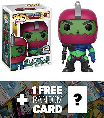 Trap Jaw (Specialty Series): Funko POP! x Masters of the Universe Vinyl Figure + 1 FREE American Cartoon Themed Trading Card Bundle (14327)
