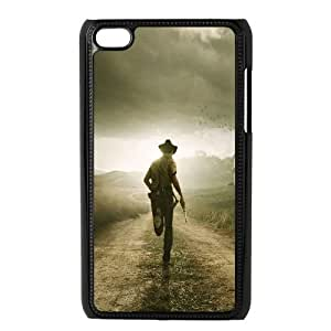 Printed Quotes Phone Case The Walking Dead For Ipod Touch 4 Q5A2113503