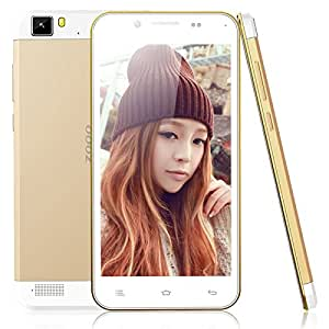 Mzamzi - Gran valor zopo zp1000 5.0 \ 1 16g android 4.2 mtk6592 octa -core processor 1.7ghz bar smartphone ( estándar de la ue ) golden