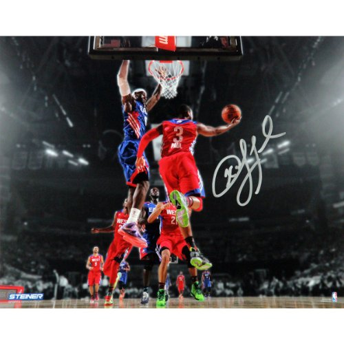 NBA Los Angeles Clippers Chris Paul 2013 All-Star Game Signed Photo, 8 x 10-Inches by Steiner Sports
