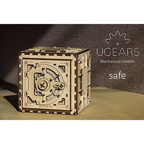 30off Ugears Mechanical Models 3 D Wooden Puzzle Mechanical Safe