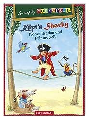 Lernerfolg Vorschule: Käpt'n Sharky - Konzentration und Feinmotorik: (Verkaufseinheit)