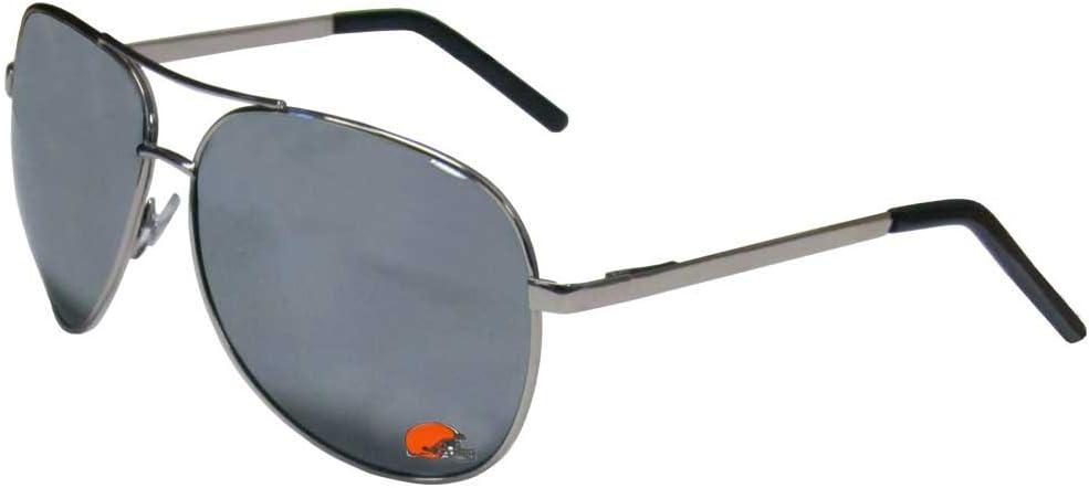 Siskiyou NFL Cleveland Browns Aviator Sunglasses