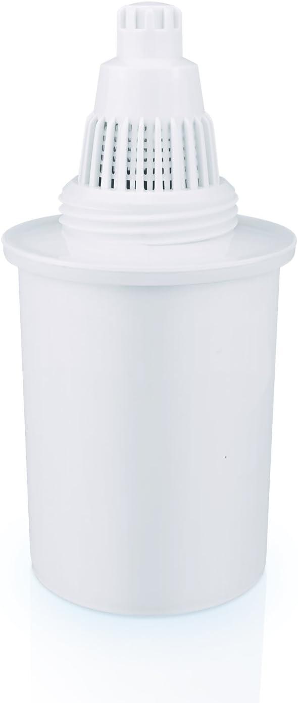 Compatible 1Alkaline Wessper/® leau Alcaline Pichet Filtre Cartouche de Filtre de Remplacement 2,5 Mois 300L Blanc