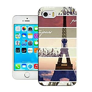 LarryToliver Customizable Forever Collectibles Eiffel Tower Rugged Dual Hybrid iphone 5/5s Cases