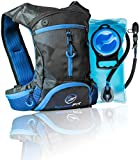 InnerFit Hydration Backpack with 1.5L Water Bladder, Durable Camel Backpack Hydration Pack for Running, Cycling, Biking, Climbing and Outdoor Activities - Versatile & Lightweight Hiking Backpack
