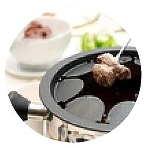 alfombrilla de ratón fondue - ronda - 20cm