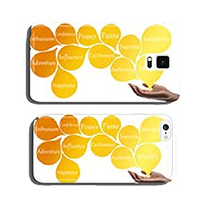 Colour Therapy - Gold energy cell phone cover case iPhone6 Plus
