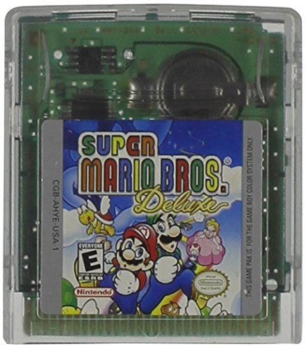 Super Mario Bros. Deluxe (Gameboy Color) (Game Super Mario Color Boy)