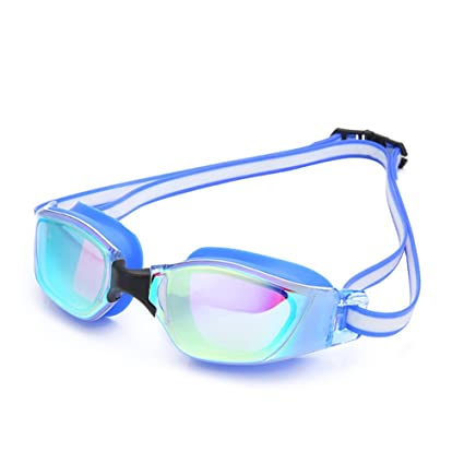 Bath Mirrors Waterproof Anti-fog Glasses Uv Protection Hd Swimming Goggles Eyewear 5 Color Home Improvement