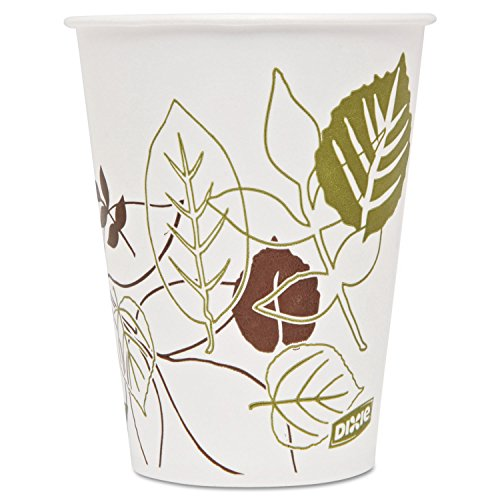 Dixie 9PPATH Pathways Polycoated Paper Cold Cups 9oz 2400/Carton