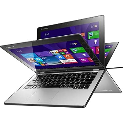 """Lenovo - Yoga 2 2-in-1 11.6"""" Touch-Screen Laptop - Intel Core i5 - 4GB Memory - 128GB Solid State Drive - Windows 8.1 - Silver"""