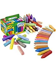 CRAYOLA Washable Sidewalk Chalk, Creative Outdoor Art, Perfect for Outdoor Kids' Activities and Games!, Multi, 48 ct (51-2048-E-201)