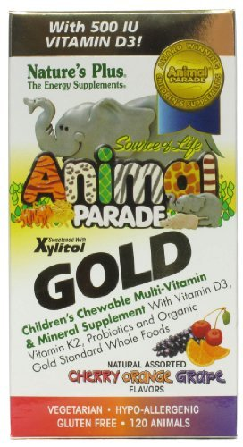 Nature's Plus - Source of Life Animal Parade Gold Children's