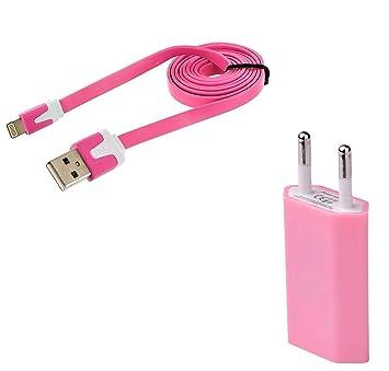 Shot Case Cable Noodle 1 m Cargador/Toma Sector USB ...