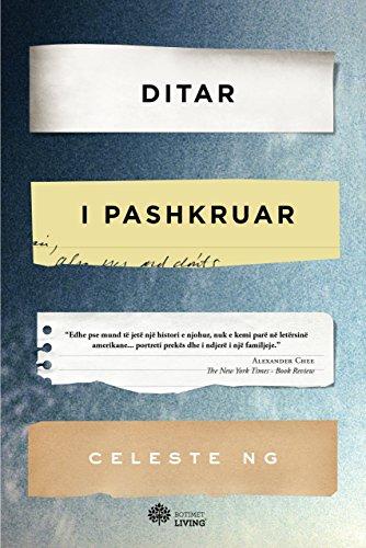 Book cover from Ditar i pashkruar by Celeste Ng