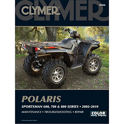 Clymer Polaris Sportsman 600, 700 & 800 2002-2010 (Polaris Sportsman 700 Atv)